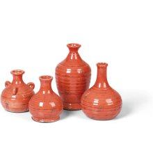 Prosecco Bud Vases, s/4 Persimmon