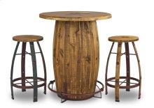 Mossy Oak Round Bar Stool