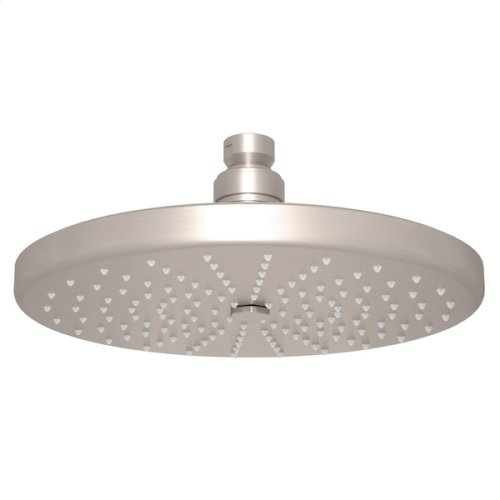"Satin Nickel 8"" Rodello Circular Rain Showerhead"