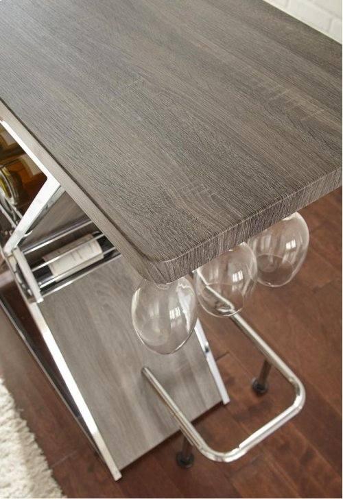 "Joanna Bar Table, Gray 47""x21""x43"""