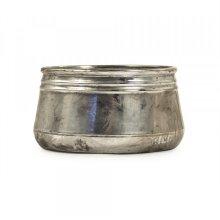 Distressed Metallic Bowl