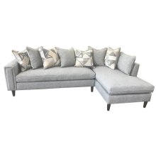 Silver LAF Sectional