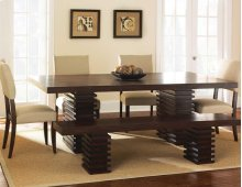 "Briana Table Base, 9""x18""x28"" (1 SET PEDESTAL BASE/BOX)"