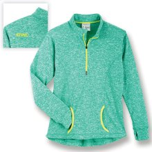 Layer up with this fleece pullover.