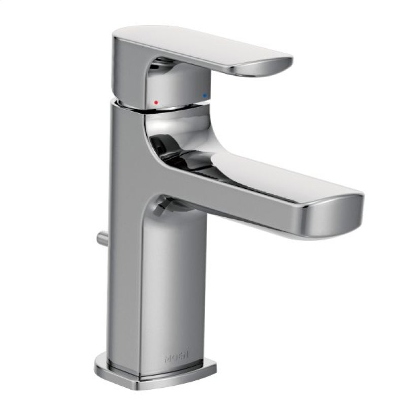 Rizon Chrome One Handle Bathroom Faucet Hidden