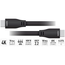 30 ft. HDMI Cable (4K@60Hz/18G/444/CL3/FT4/Ethernet/ARC/24AWG)