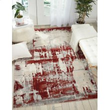Maxell Mae14 Ivory Red Rectangle Rug 9'3'' X 12'9''