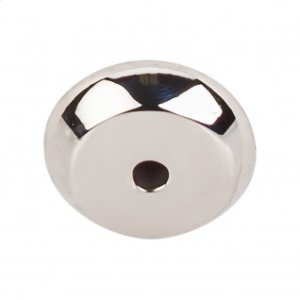 Aspen II Round Backplate 7/8 Inch - Polished Nickel