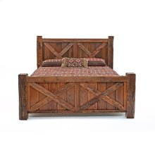 Western Traditions - Wyoming Bed - 25442 - Queen Bed (complete)