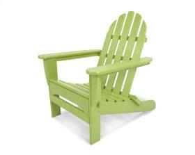 Lime Classic Folding Adirondack