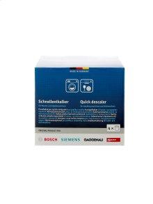 Descaler for Dishwashers & Washing Machines (4 pack)
