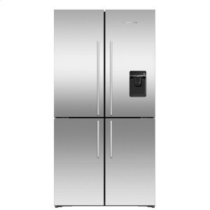Fisher & PaykelActiveSmart Refrigerator - 18.9 cu ft. counter depth Quad Door, Ice & Water
