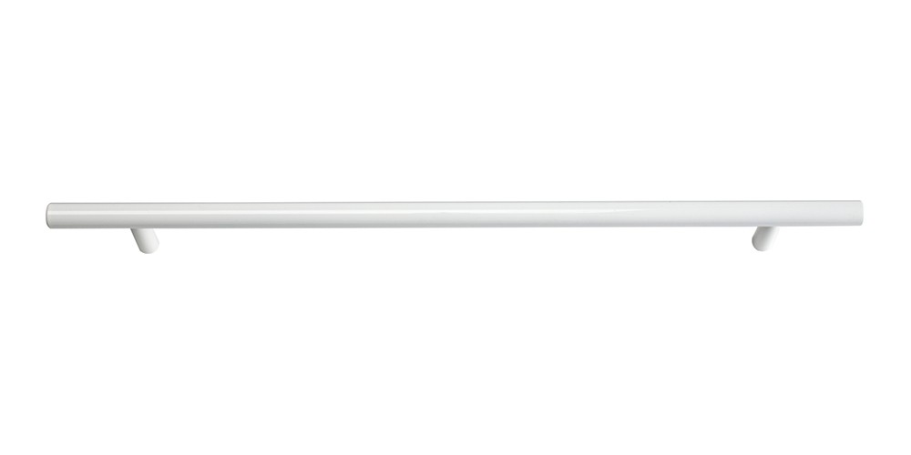 Skinny Linea Pull 11 5/16 Inch (c-c) - High White Gloss
