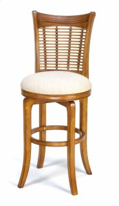 Bayberry Swivel Counter Stool - Oak