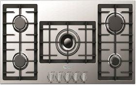 "Stainless Steel 36"" Gas Cooktop - Designer Series"