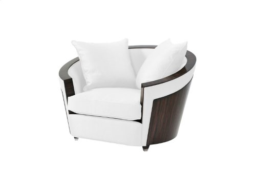 Surround Upholstered Chair - Ebony Trimmed