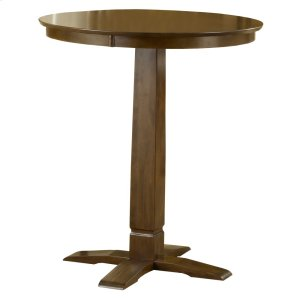 "Hillsdale FurnitureDynamic Designs Bar Height Bistro Table 36"" Top - Ctn A - Top Only"