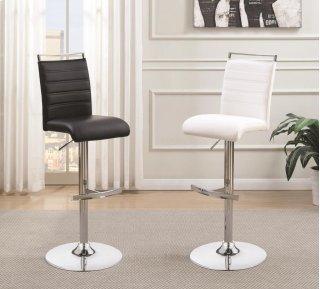 Barber Bar Stool Black