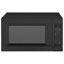 This 2.0 cu. ft. model fits large meals and offers 1,100 watts of cooking power. Inside, the turntable rotates food for even cooking results. Sensor cook options monitor humidity and automatically adjust cooking time for improved results.