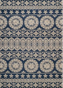 Chenille Vintage Navy Rugs