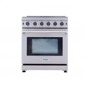ThorThor Kitchen - 30 Inch Professional Gas Range In Stainless Steel