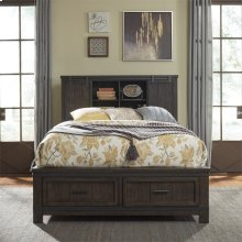 King California Bookcase Bed