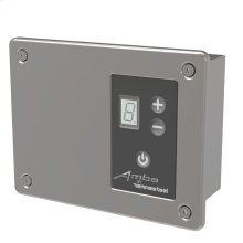 Remotely-wired Digital Heat Controller - Matte Black
