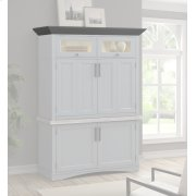 Americana Modern Dove Workstation Crown Product Image