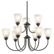 Jolie Collection Jolie 9 Light Chandelier - Olde Bronze OZ
