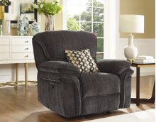 LIGHTNING Dual Recliner Console Loveseat