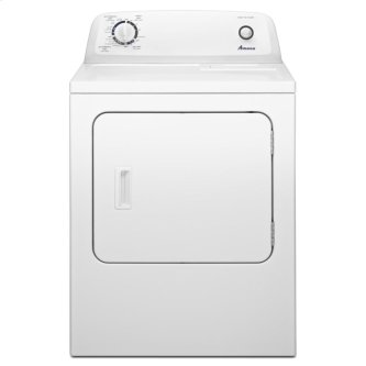 Amana(R) 6.5 cu. ft. Top-Load Electric Dryer with Automatic Dryness Control