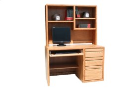 "O-C642 Modern Oak 48"" 3-Drawer Student Computer Desk"