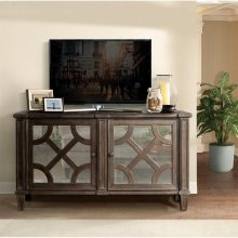 Verona - Entertainment Console - Dark Sienna Finish