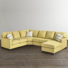 Custom Upholstery Medium U-Shaped Sectional