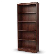 5-Shelf Bookcase - Royal Cherry