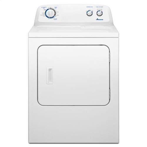 7.0 cu. ft. Top Load Electric Dryer with Energy Preferred Cycle - white