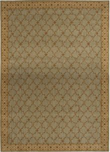 Hard To Find Sizes Estate Bilt Aqua Rectangle Rug 13'8'' X 21'3''