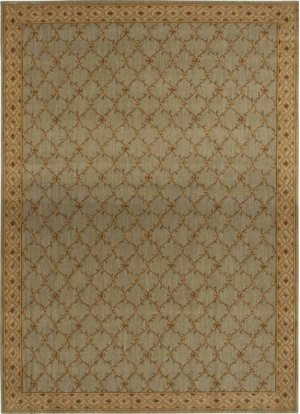 Hard To Find Sizes Estate Bilt Aqua Rectangle Rug 12'6'' X 20'