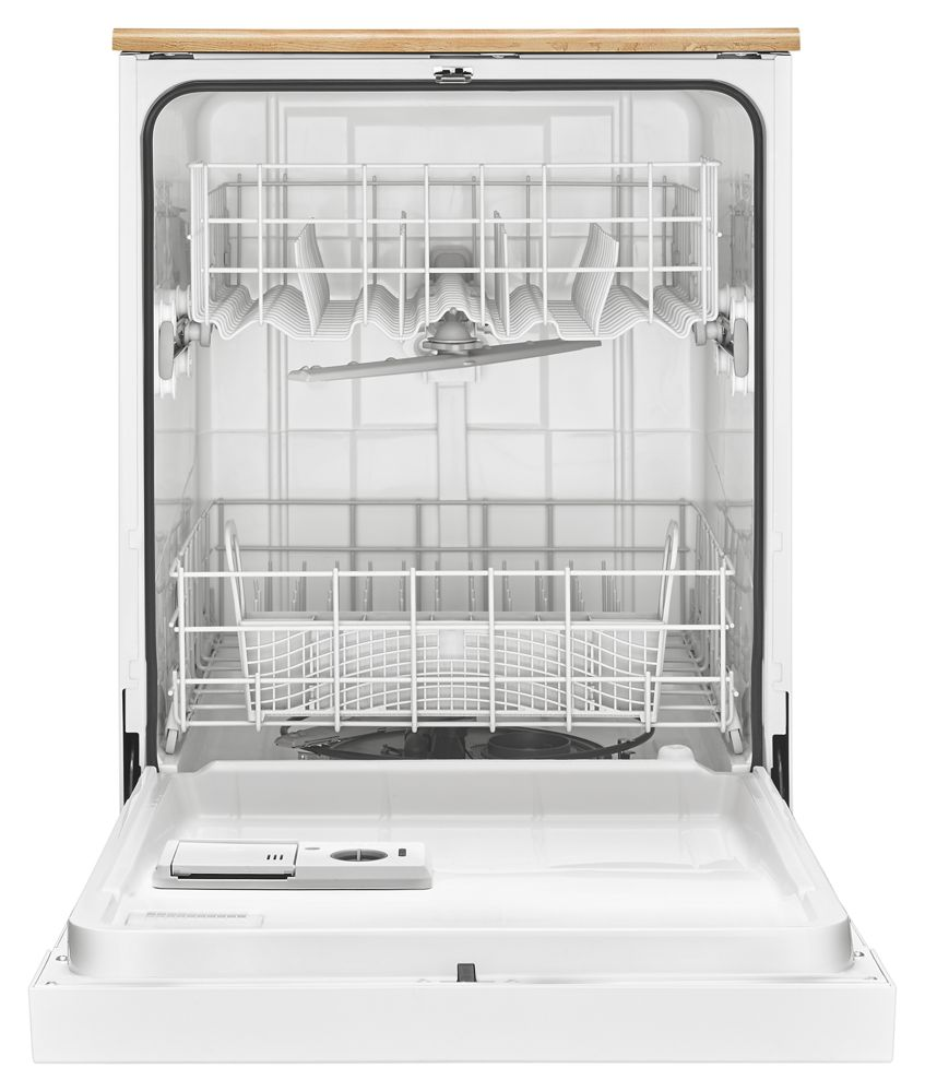WDP340PAFWWHIRLPOOL Portable Dishwasher With The 1-Hour Wash Cycle ...