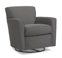 Kingman Fabric Swivel Glider Product Image