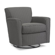 Kingman Fabric Swivel Glider