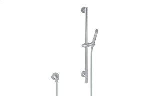 Contemporary Handshower w/Wall-Mounted Slide Bar Product Image