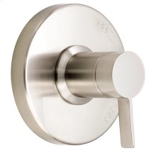 Brushed Nickel Amalfi Valve-Only Trim Kit