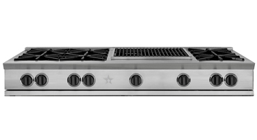 """60"""" RANGETOP WITH A 12"""" GRIDDLE & CHARBROILER"""