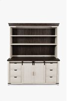 Madison County Server Hutch - Vintage White Product Image