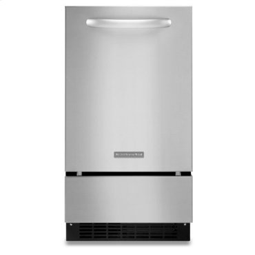 Stainless Steel KitchenAid® 18'' Automatic Ice Maker, Architect® Series II