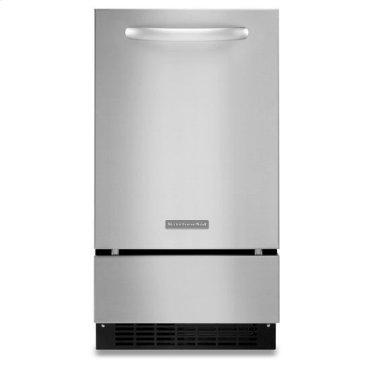 Stainless Steel KitchenAid® 18'' Automatic Ice Maker, Architect® Series II