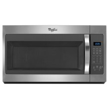 Out of Box Whirlpool 1.7 cu. ft. Microwave Hood Combination with Electronic Controls