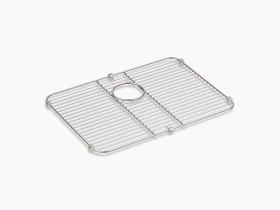 "Stainless Steel Stainless Steel Sink Rack, 21-1/8"" X 15-3/4"" for K-3325-na, K-3332-na Undertone and K-3325-hcf Undertone Preserve Sinks"