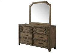1051 Urban Charm Dresser with Mirror